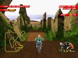 Moto Racer PlayStation Race start at the lost ruins