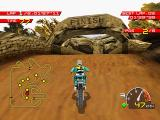 Moto Racer PlayStation Finish line
