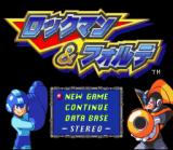 Mega Man & Bass SNES Title Screen