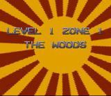 3 Ninjas Kick Back SNES Level Intro Screen