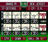 ABC Monday Night Football SNES Play selection screen