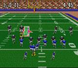 ABC Monday Night Football SNES On the field
