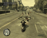 Grand Theft Auto IV: The Lost and Damned Windows Driving in formation fills up health and repairs the bike