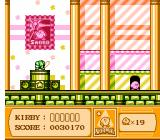 Kirby's Adventure NES Inside a museum. Museums keep weapons for you and you can pick them up for use in other levels.
