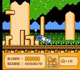 Kirby's Adventure NES Using the Freeze weapon to turn enemies into ice blocks.
