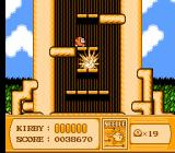 Kirby's Adventure NES The needle weapon turns you into a real hazard.