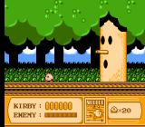 Kirby's Adventure NES This tree boss is not too tough.