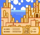 Kirby's Adventure NES The Crash power-up makes you shoot around the screen like a rocket.