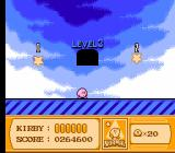 Kirby's Adventure NES Inside a warp zone.