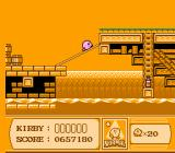 Kirby's Adventure NES Boarding a ship.