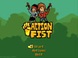 Action Fist Windows Main menu