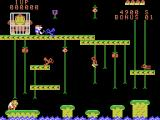 Donkey Kong Junior ColecoVision Gameplay on the first level