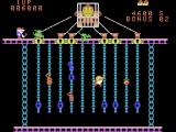 Donkey Kong Junior ColecoVision Gameplay on the second level