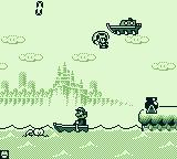 Game & Watch Gallery 2 Game Boy Playing Parachute with the modern style.