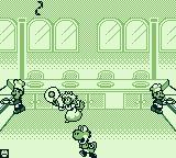 Game & Watch Gallery 2 Game Boy Modern Chef: Flipping an egg.