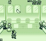 Game & Watch Gallery 2 Game Boy Modern Chef: If I aim right and miss, Yoshi can eat it.