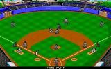 Epic Baseball DOS Home runs aren't as exciting as you'd hope in this game.
