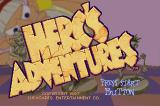 Herc's Adventures SEGA Saturn Title screen