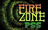 Firezone DOS Title screen.