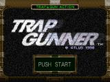 Trap Gunner PlayStation Start screen