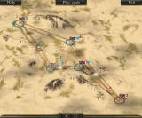 Theatre of War 2: Africa 1943 Browser Hostile tanks shoot at each other