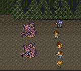 Romancing SaGa 2 SNES Fighting snakes