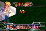 Final Fight Revenge SEGA Saturn Character selection
