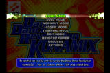 Dance Dance Revolution: Konamix PlayStation Game mode selection screen.
