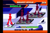 Dance Dance Revolution: Konamix PlayStation Here you can choose to play alone, with a friend, or in doubles mode.