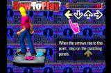 Dance Dance Revolution PlayStation The attract mode includes a mini-tutorial on how to play the game.