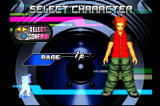Dance Dance Revolution PlayStation You can choose a dancing character before playing a game.