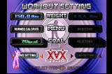 Dance Dance Revolution PlayStation Workout Mode lets you change several settings depending on your goals for the day.
