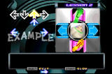 Dance Dance Revolution PlayStation Lesson Mode teaches you the basics of DDR with easy to understand diagrams.