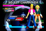 Dance Dance Revolution PlayStation In Versus Mode, both players can have their own character!