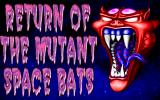 Return of the Mutant Space Bats of Doom DOS Title screen (with rotating VGA palette) 2