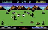 Raw Recruit Commodore 64 Rifle range