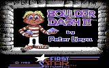 Super Boulder Dash Commodore 64 Boulder Dash II: title screen
