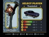 Vigilante 8: 2nd Offense Dreamcast Car Selection