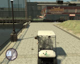 Grand Theft Auto: The Ballad of Gay Tony Windows ...and a golf car chase