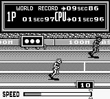 Track & Field Game Boy 100m Dash