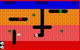 Dig Dug Intellivision Starting a new game