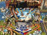 Patriotic Pinball PlayStation Road Trip table