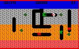 Dig Dug Intellivision Just killed one of the creatures