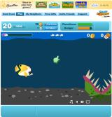 Happy Aquarium Browser Click the flesh eating plant at the right time in this mini-game or your fish will be eaten