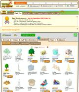 Zoo World Browser Lots of things to buy