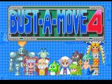 Bust-A-Move 4 PlayStation Title screen