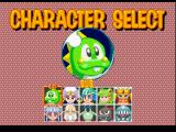 Bust-A-Move 4 PlayStation Character selection