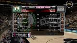NBA 2K8 Xbox 360 The game is presented like a T.V. telecast.