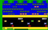 Frogger Intellivision A frog crossing the road...