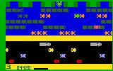 Frogger Intellivision Hopping across the river...